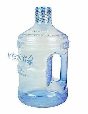 BPA FREE 1 Reusable Plastic Bottle Jug Drinking