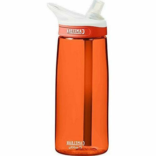 bpa free eddy 75l water bottle lava