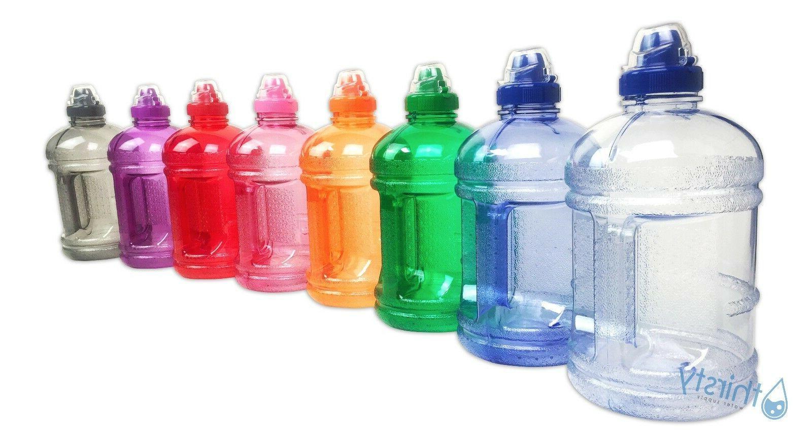 bpa free water bottle half gallon drink