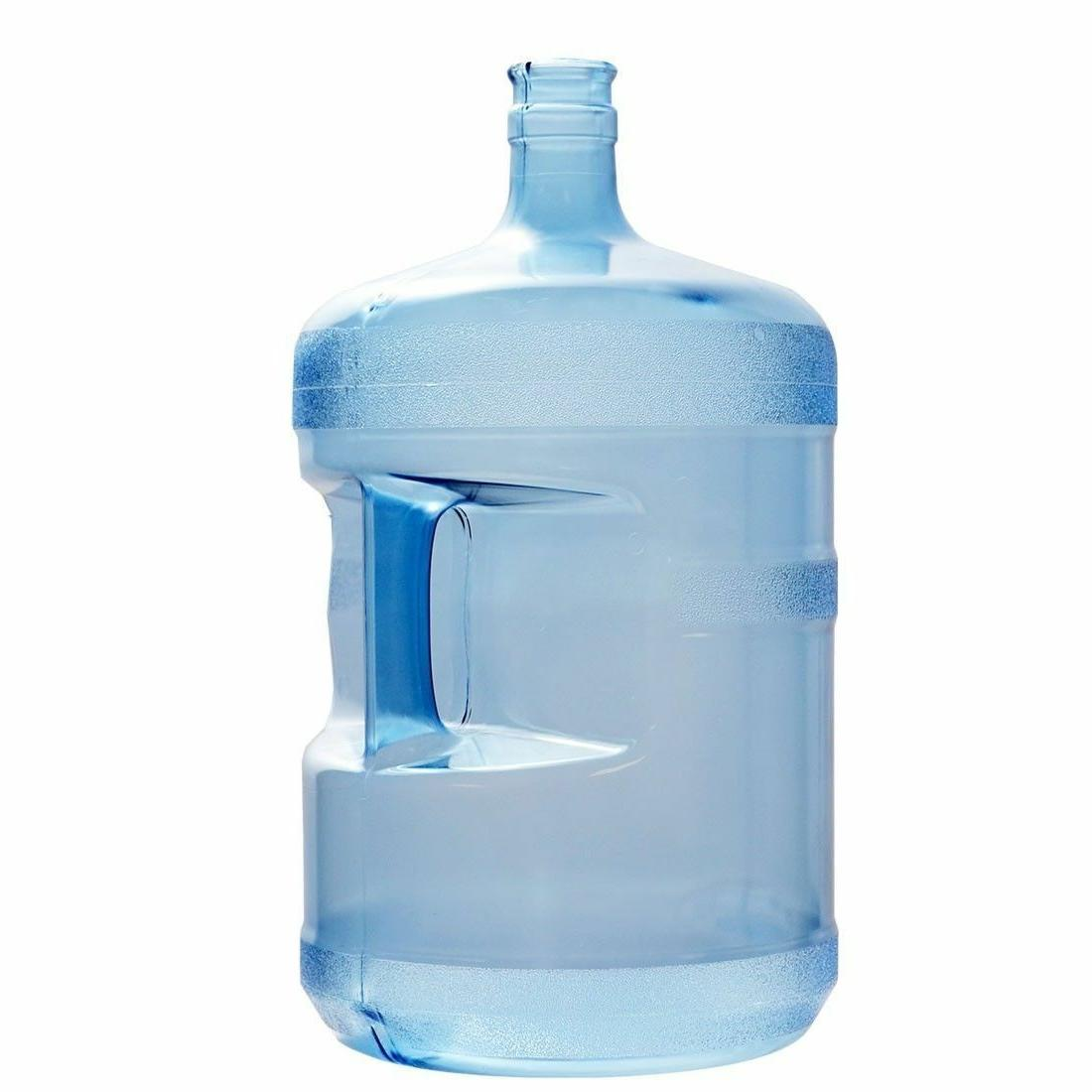 5 Gallon BPA Free 55mm Plastic Water Bottle  with 1 Dew Cap