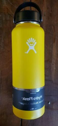 BRAND NEW Hydro Flask 40 oz Wide Mouth Insulated Bottle with