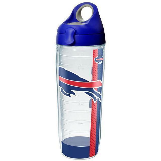 Buffalo Bills Tervis 24 Oz. Water Bottle W/Lid-New W/Tag