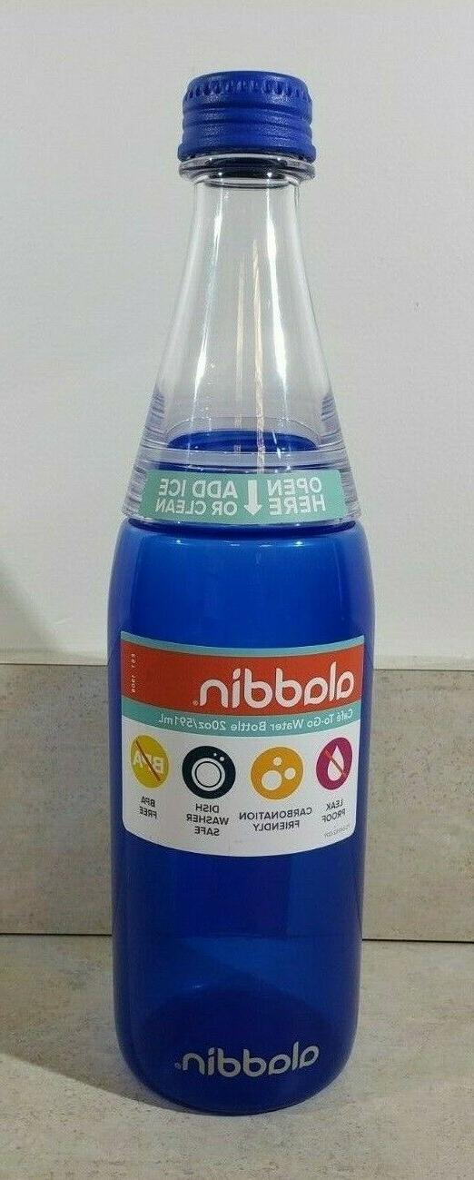 Aladdin Water 20oz DISHWASHER SAFE SODA COLA JUICE POP