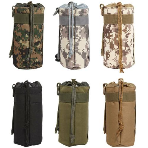 550ML Camo Water Bottle Carrier Insulated Cover Bag Kettle C