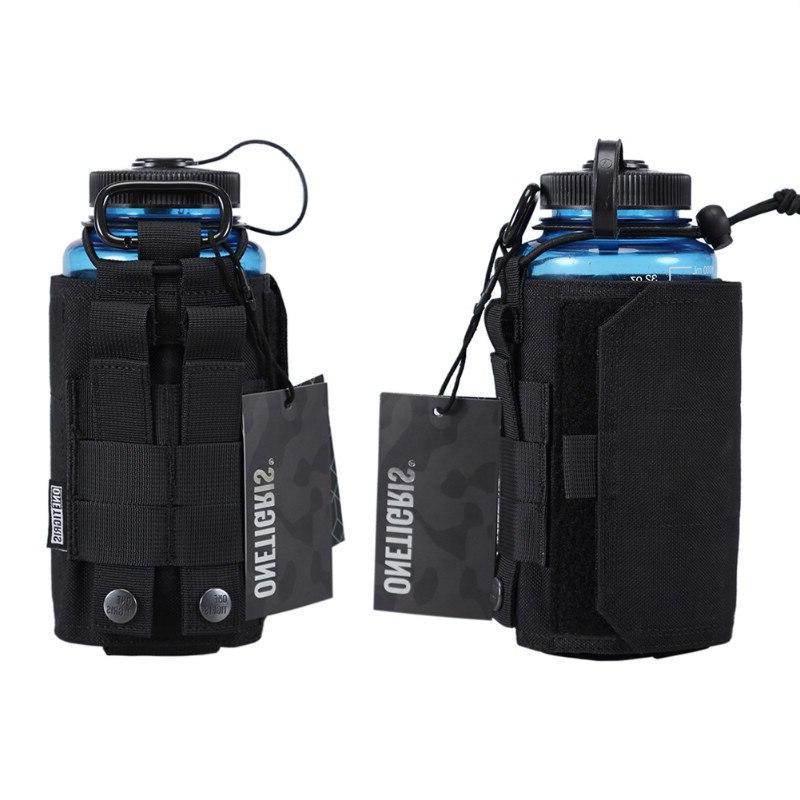 OneTigris Nylon Adjustable MOLLE Carrier <font><b>Water</b></font> <font><b>Bottle</b></font> or Oasis