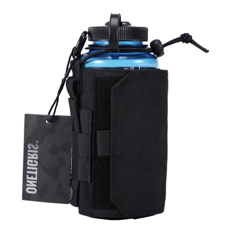 OneTigris Canteen Pouch 1000D Nylon Adjustable <font><b>Water</b></font> or Oasis Canteen