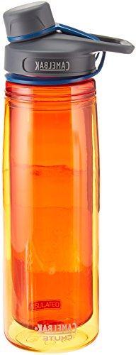 CamelBak Chute Insulated Water Bottle, Fire, .6-Liter