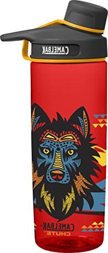 CamelBak Chute Water Bottle, Wolf, 0.6 L