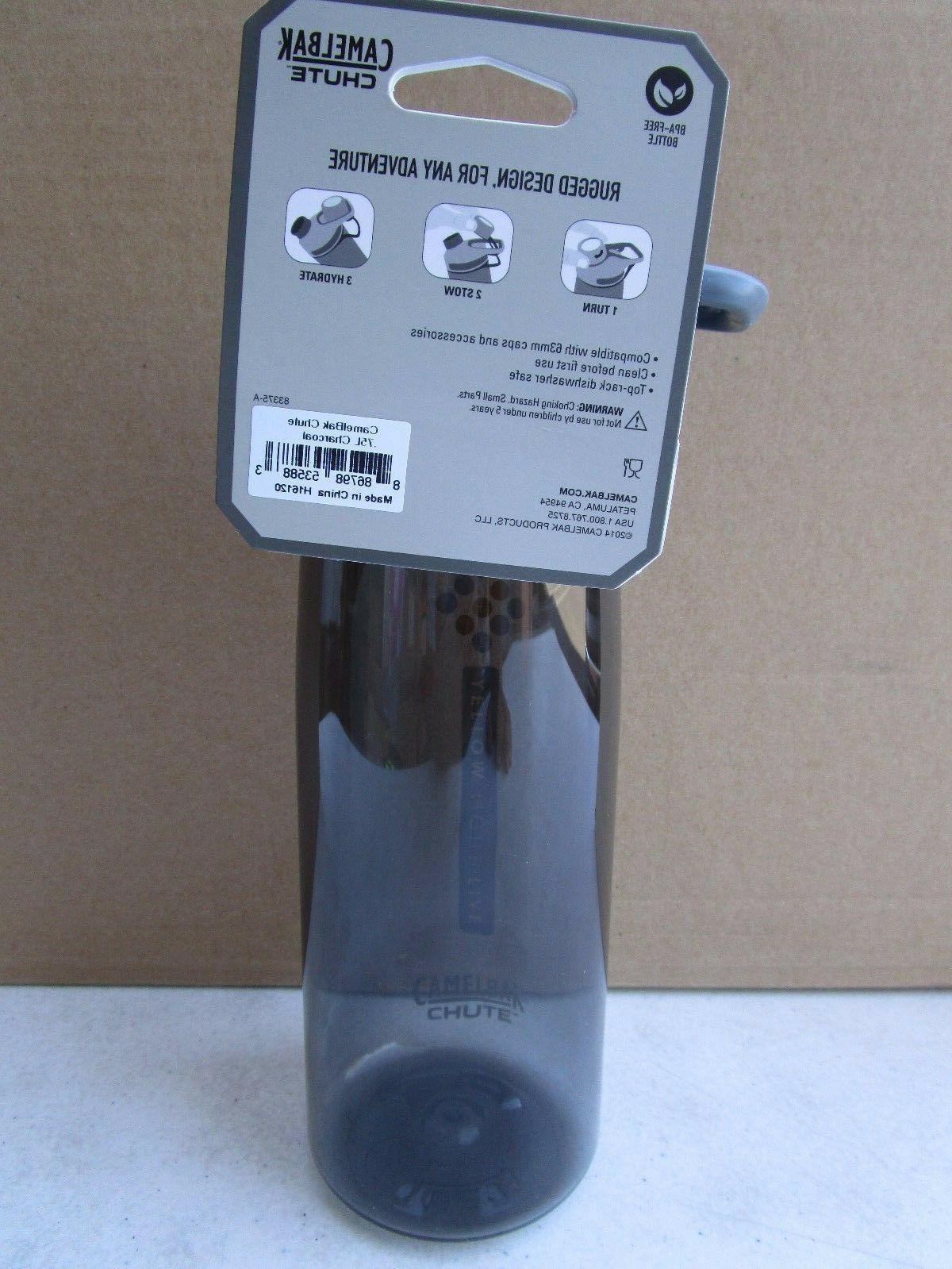 CAMELBAK CHUTE 0.75L water H16120 black .75 liter