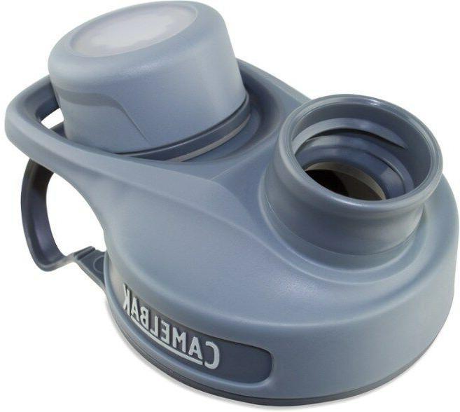 CamelBak Water Replacement Cap, Gray, Free