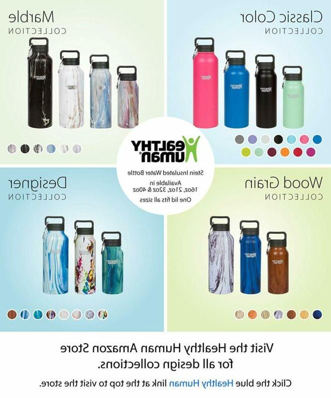 Healthy Human Classic Stainless Steel Vacuum Water Bottle |