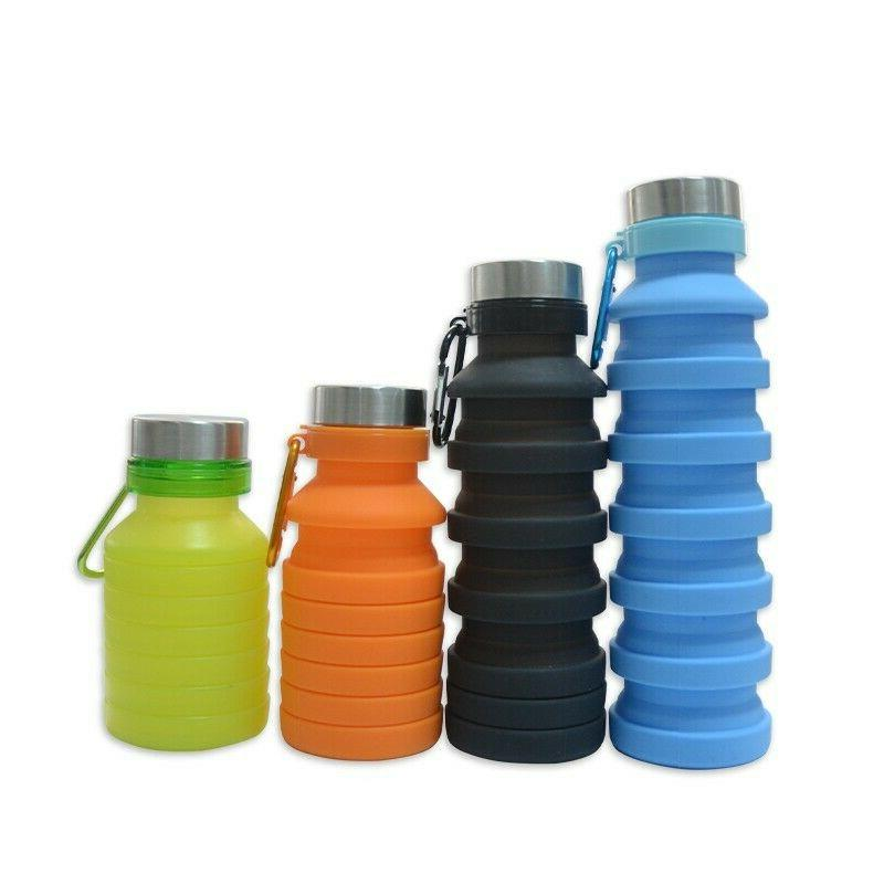 Collapsible Free Silicone Water Bottle