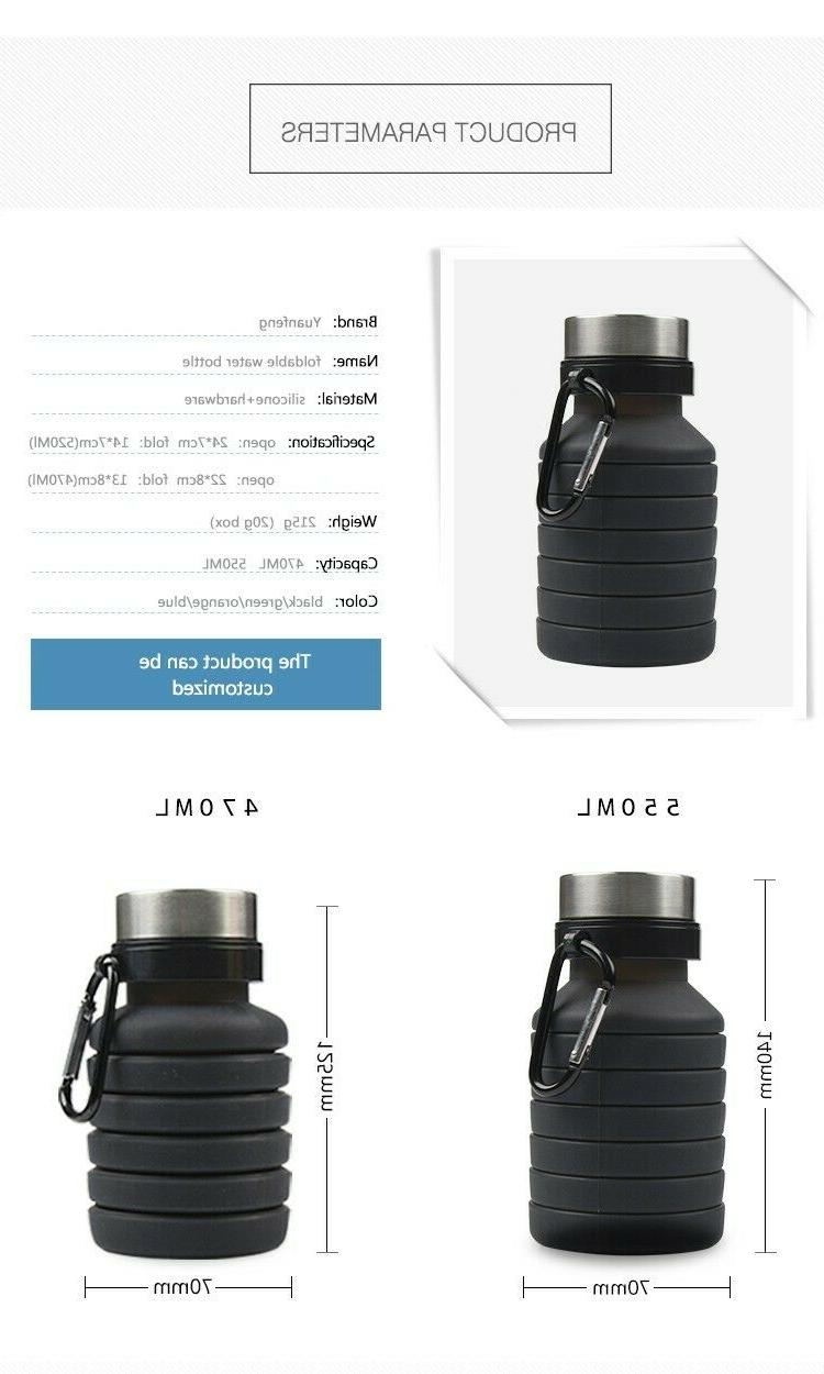 Collapsible Bottle, Free Foldable Water
