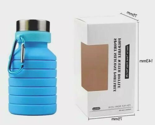 Collapsible Bottle Collapsable Sport