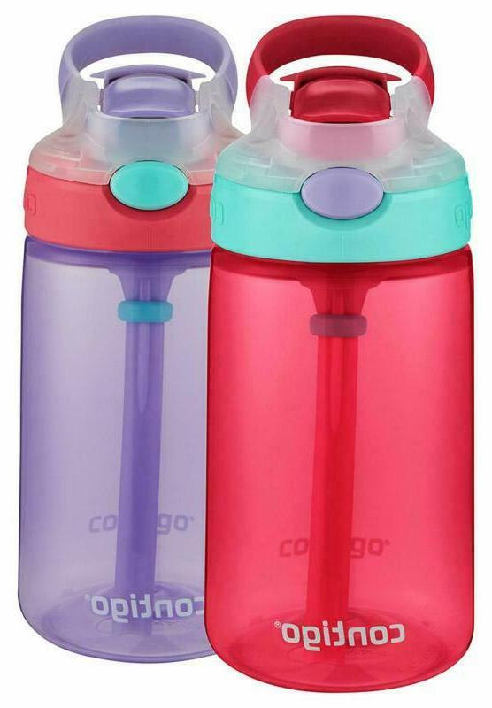 954a06a596 Contigo Autospout Straw Gizmo Flip Kid Water Bottles