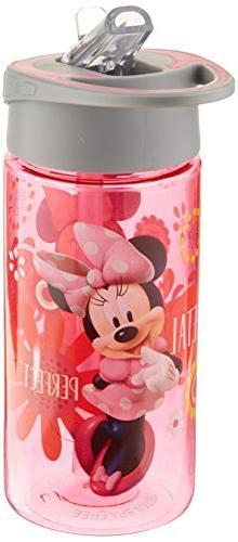 Disney Jr. Minnie's Bow-Tique 14 Oz. Water Bottle