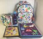Disney Store INSIDE OUT Backpack Lunch Tote Water Bottle Org