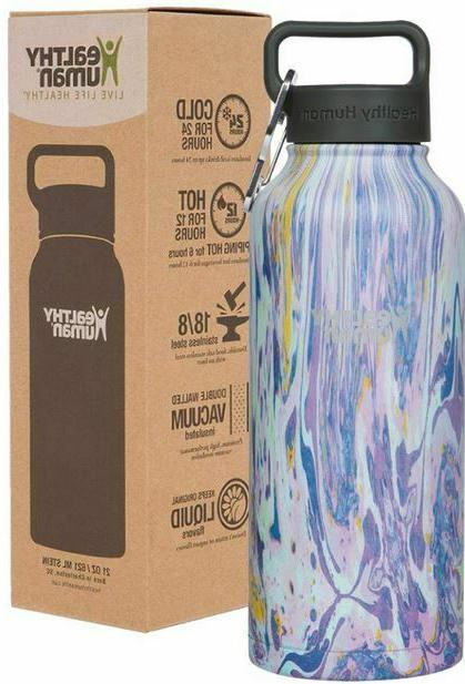 double walled insulated stainless steel water bottle