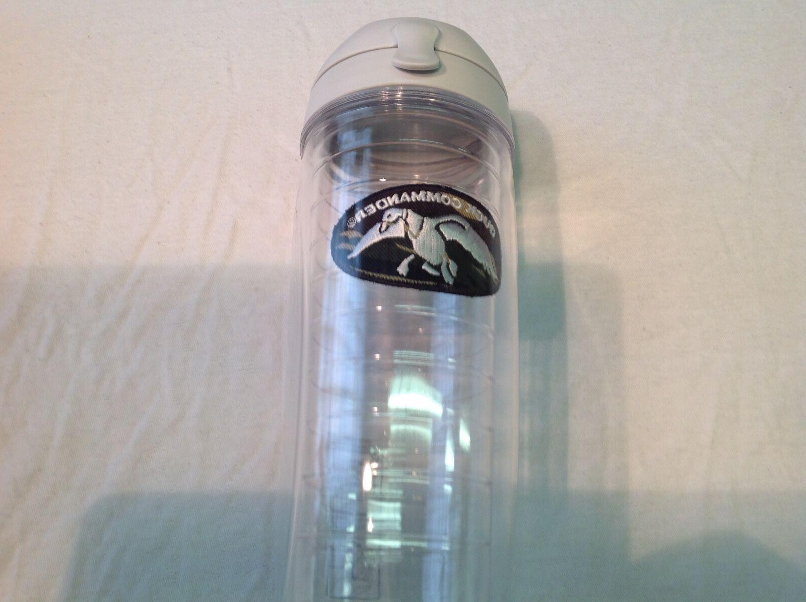 DUCK DYNASTY TERVIS 24oz liquid HOT OR COLD bottle lid & whi