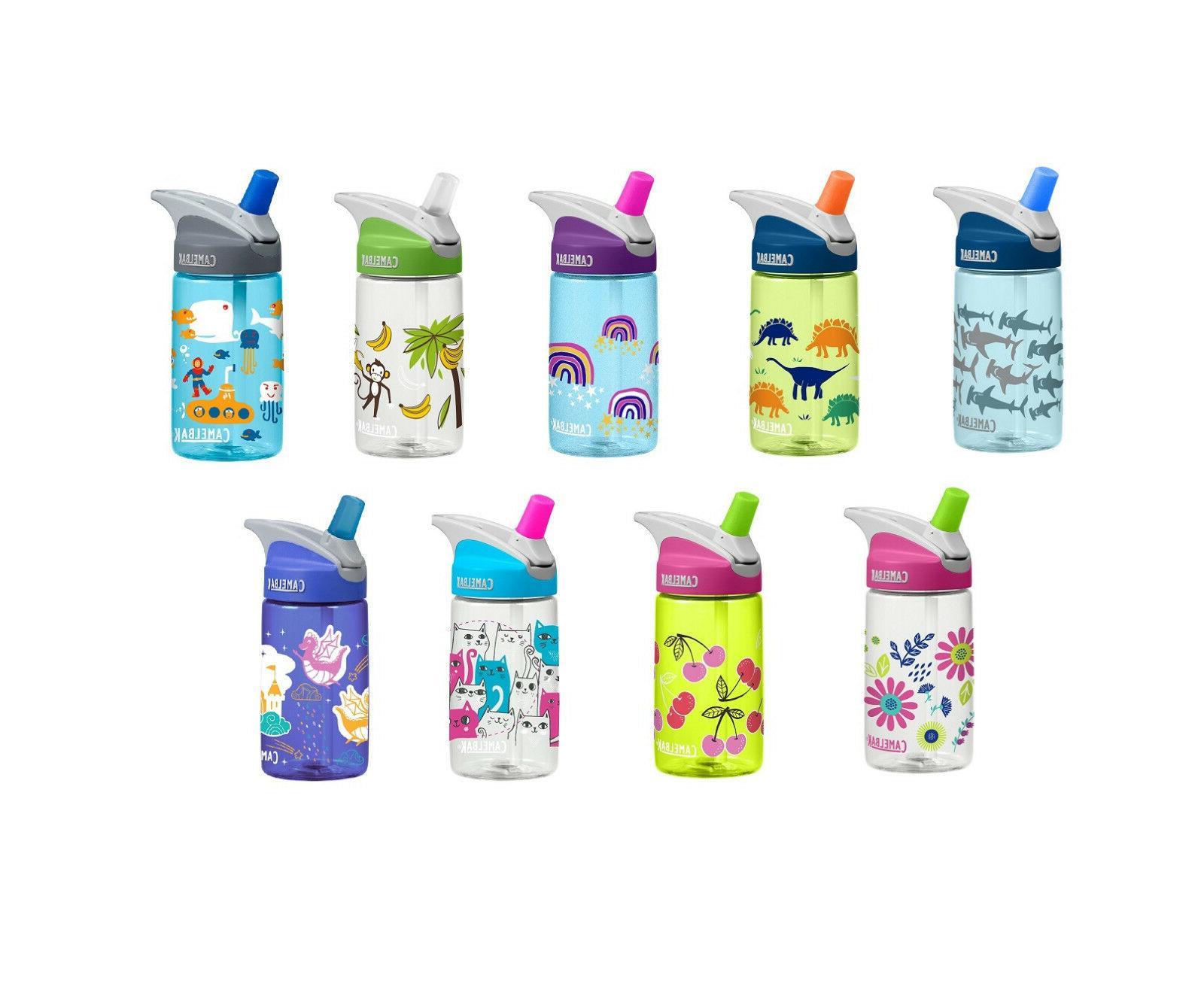 CAMELBAK EDDY KIDS NON SPILL WATER BOTTLE 400ml BPA & BPS FR