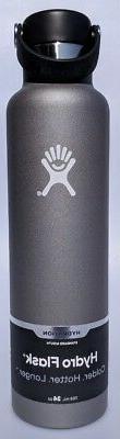 Hydro Flask Standard Flex Cap Bottle, Size One Size - Grey