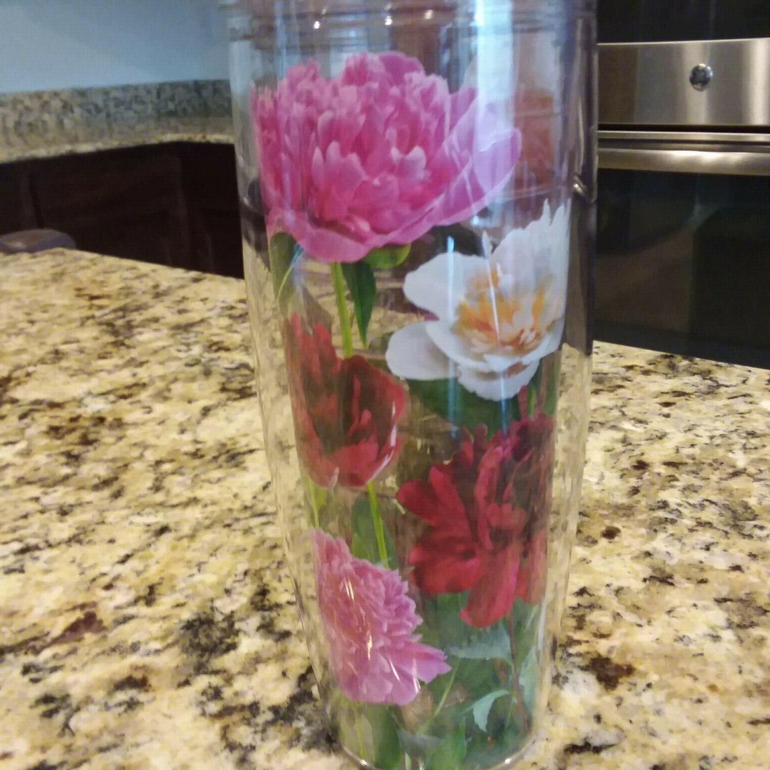 TERVIS Water Pink Lid Day Flowers