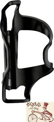 LEZYNE FLOW SIDE LOADER LEFT HAND BLACK WATER BOTTLE CAGE