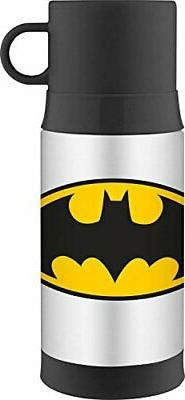 Thermos Funtainer 12oz Warm Beverage Bottle Batman Thermoses