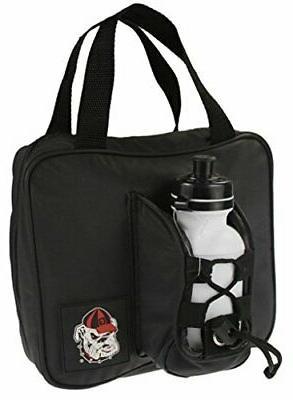 Georgia Bulldogs NCAA Kids Insulated Lunch Bag with Reusable