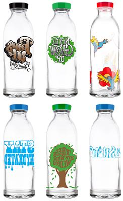 gift pack 3 limited edition reusable glass