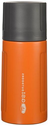 GSI Outdoors Glacier Stainless 0.5 L Vacuum Bottle, Orange