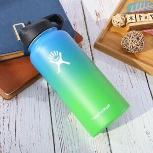 Gradient Color Hydro Flask Water Mouth Stainless Steel Bottle 32Oz