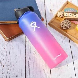 Gradient Water Bottle Wide Mouth Stainless Steel