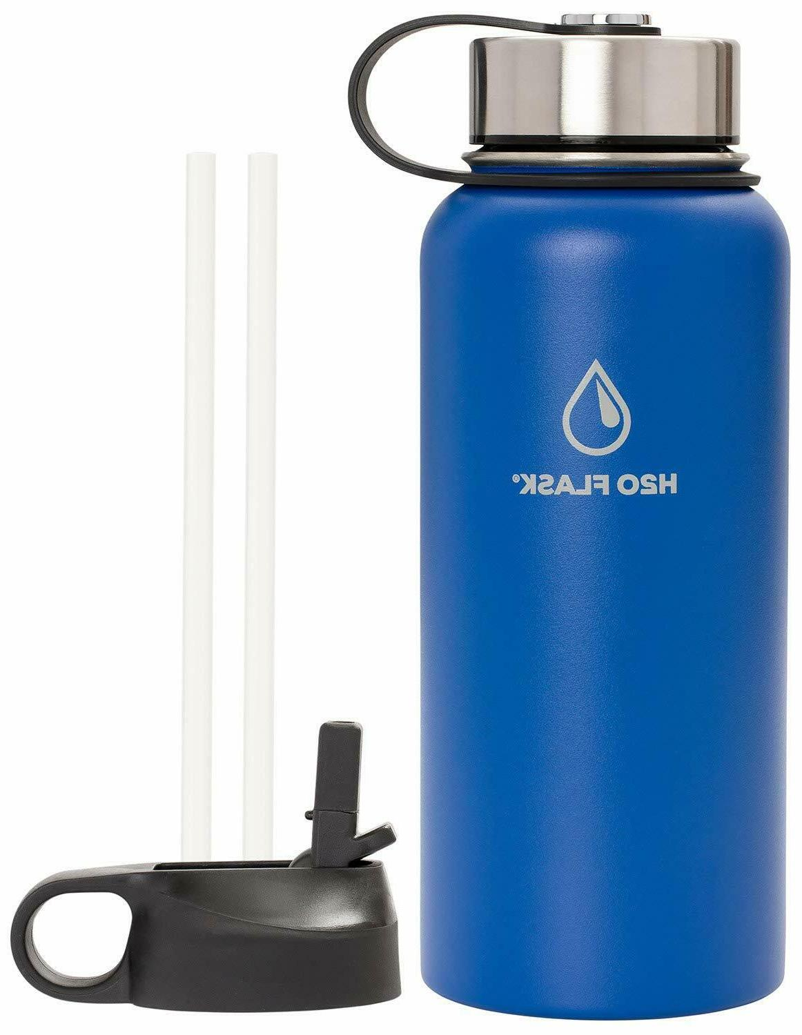 H20 Flask Mouth with Straw