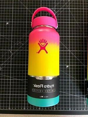 Hydro Flask Hawaiian Rainbow 32 oz Limited Edition Water Bot