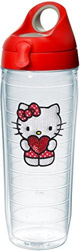 Tervis Hello Kitty - Kitty Love Sequins 24oz Clear Water Bot