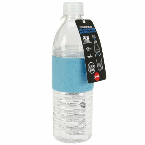 Copco Hydra Water Bottle Non Slip Sleeve BPA Free Reusable 1