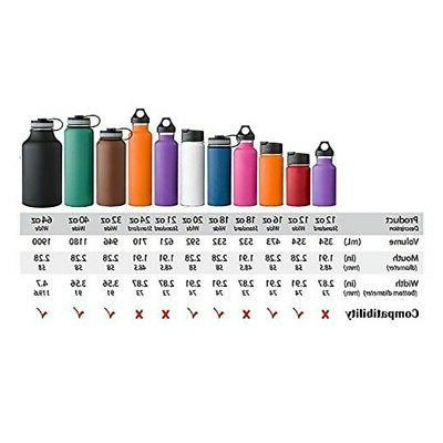 """For HYDRO FLASK 2.28"""" Wide Mouth Water Bottle Cap Lid 12 16"""