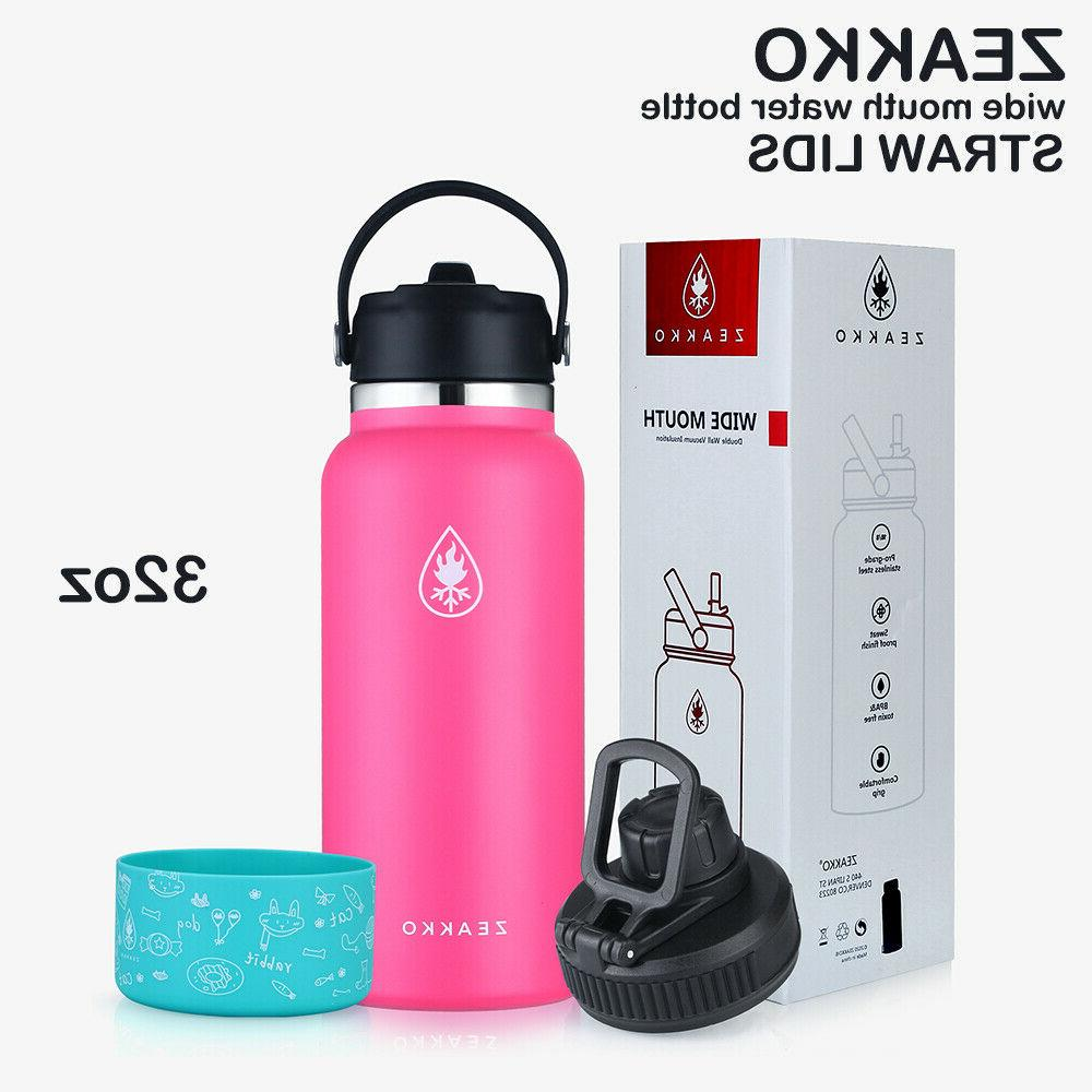 Hydro Flask 32 oz Wide Mouth Insulated Water Bottle Black