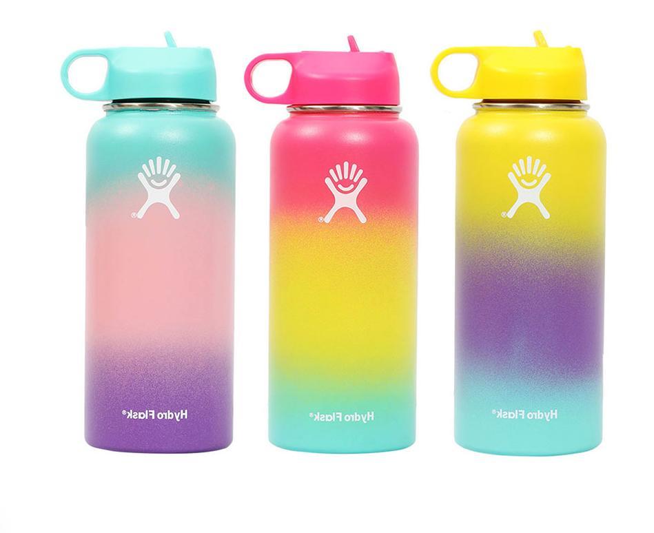 Hydro Flask Water with Flex Straw Lid - fl.