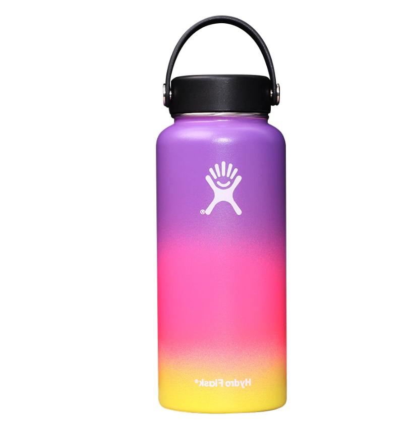 Hydro Flask Wide-Mouth Vacuum Water Bottle with Flex Straw Lid - fl.