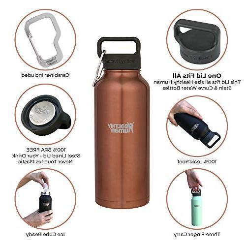 Healthy Steel Water Bottle - Hours/Hot 6 Walled Vacuum Flask Hydro - oz Sunset