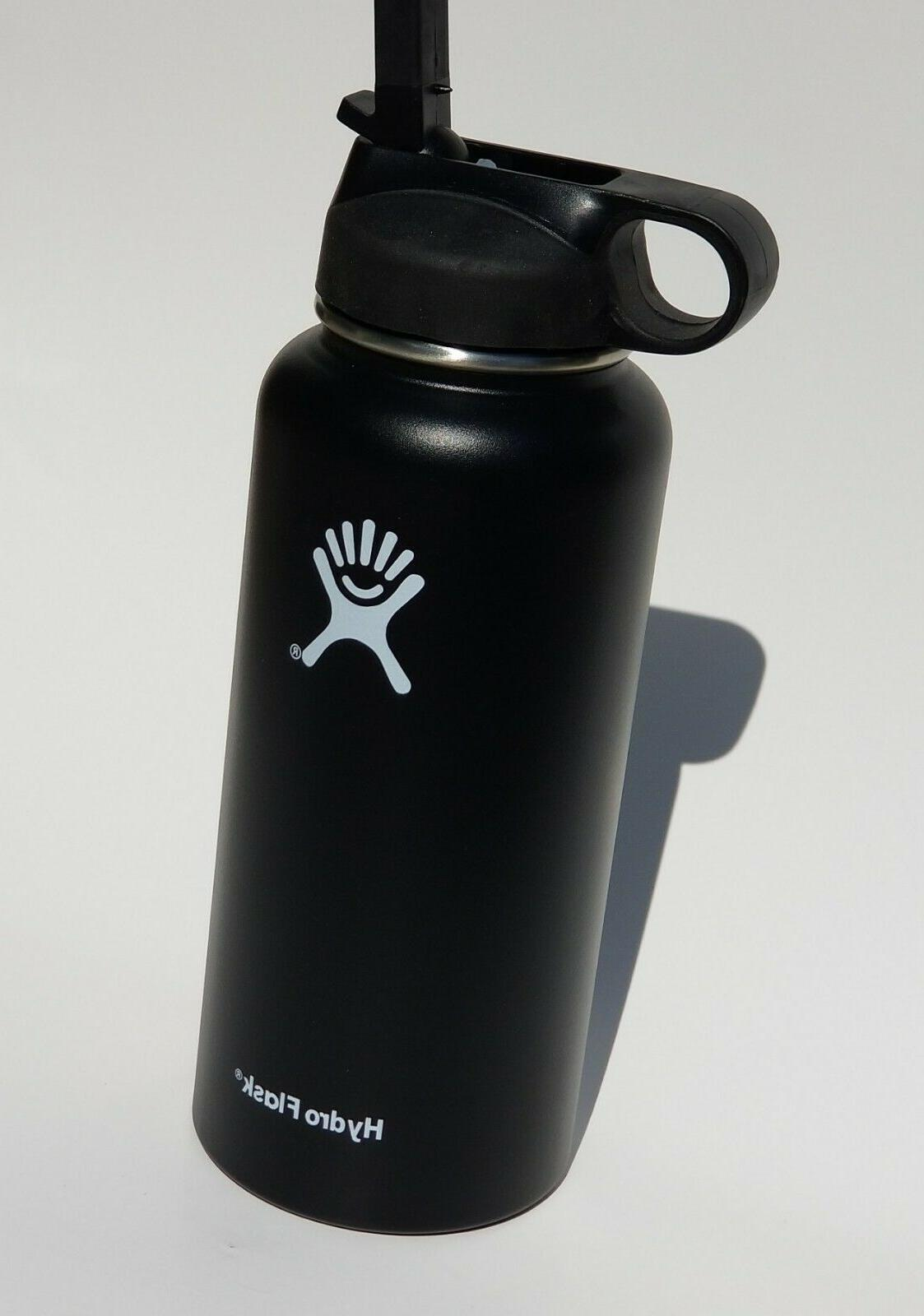 insulated stainless steel water bottle straw lid