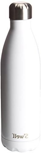 S'Well 'Angel Food' Insulated Stainless Steel Water Bottle,