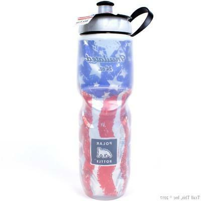 2-Pack Polar Insulated USA Stripes Cycling