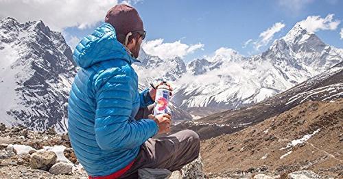 Polar Bottle Water Cycling Sports Water Bottle - Dishwasher Freezer