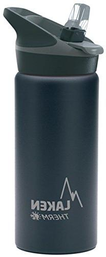Laken Jannu Vacuum Insulated Stainless Steel Water Bottle wi
