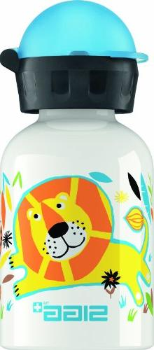 Sigg Jungle Family Water Bottle, White, 0.3-Liter