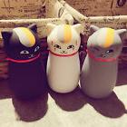 Kawaii Cute Cat thermos Cup Stainless Steel Travel Mug Kids