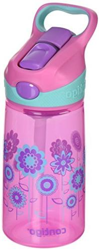 Contigo Kids AUTOSPOUT Kids Striker Water Bottle, 14-Ounce,